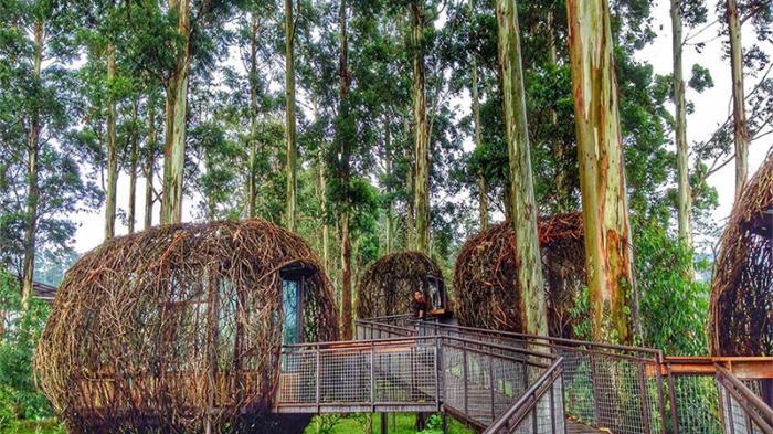 Dusun Bambu Lembang Bandung - Restoran Lutung Kasarung Dijamin Bikin Pacar Kamu Klepek-klepek