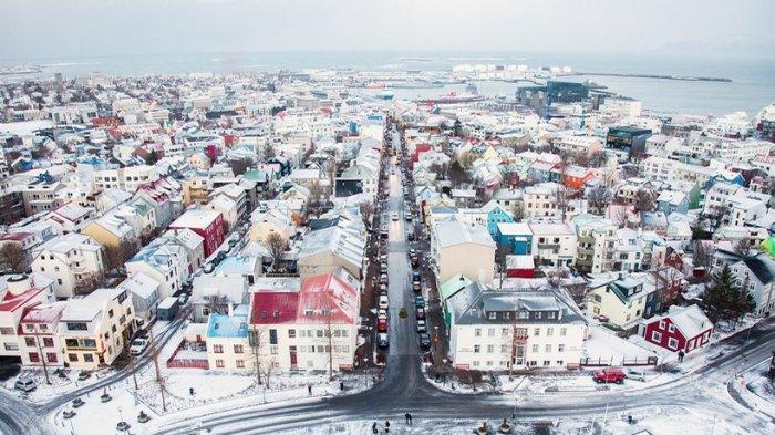 Reykjavík, Islandia.