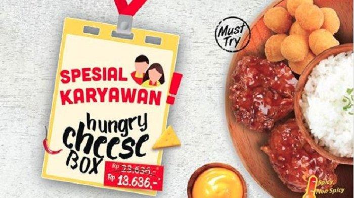Promo Richeese Factory Oktober 2018 - Makan Siang Cuma Modal Rp 13 Ribu, Cek Syaratnya Yuk
