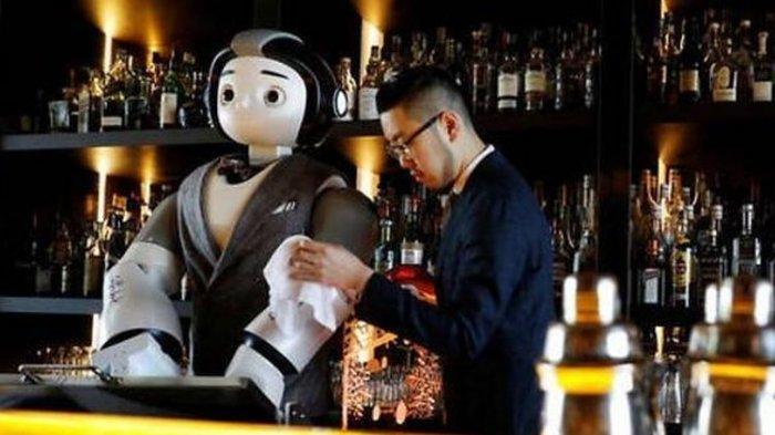 Pratikkan Jarak Sosial, Kafe di Korea Selatan Gunakan Robot untuk Layani Pengunjung