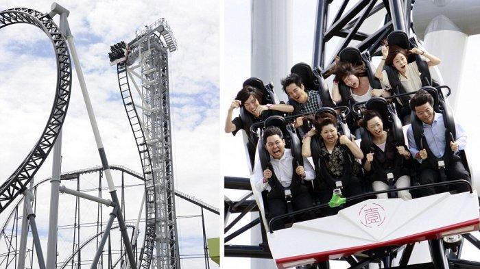 5 Roller Coaster Paling Berbahaya di Dunia, Ada yang Lintasannya Berkelok hingga 360 Derajat