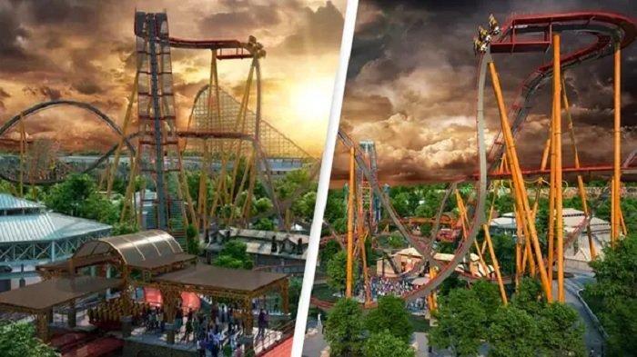 Rollercoaster Tercuram di Dunia Akan Dibuka Tahun 2022, Wisatawan Tak Sabar Ingin Mencoba