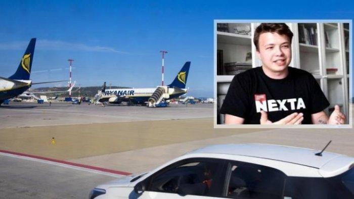 Seorang Jurnalis Ditangkap Setelah Pesawat yang Dinaiki Tiba-tiba Putar Balik