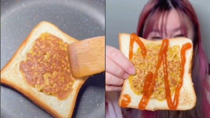 Roti Omelet Mi, Kreasi Unik Olahan Mi Instan yang Viral di TikTok