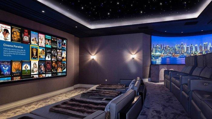 Rumah bergaya bioskop