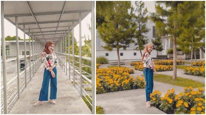 Kolase foto traveler saat liburan ke Rumah Atsiri