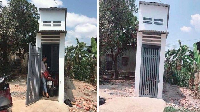 Dibangun di Atas Tanah Sempit, Rumah Mungil yang Unik Ini Buat Orang Takjub Setelah Lihat Isinya