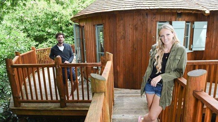 Habiskan Masa Lockdown di Rumah Pohon, Pasangan Ini Mengaku Lebih Bahagia dari Sebelumnya
