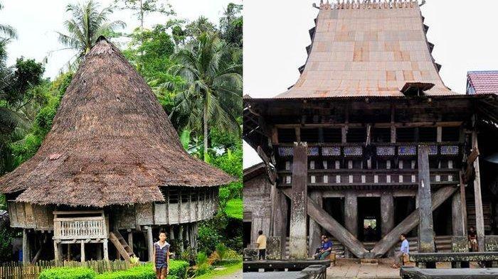 rumah tradisional nias