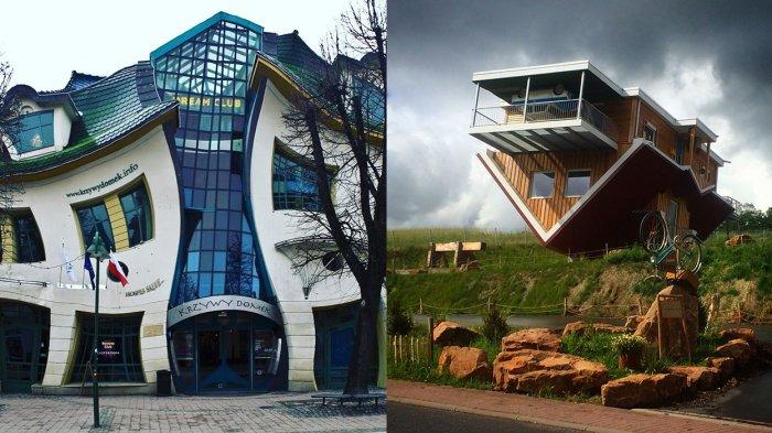 Terbuat Dari Batu Sampai Berbentuk Toilet Ini 10 Rumah Paling Aneh Di Dunia Halaman All Tribun Travel
