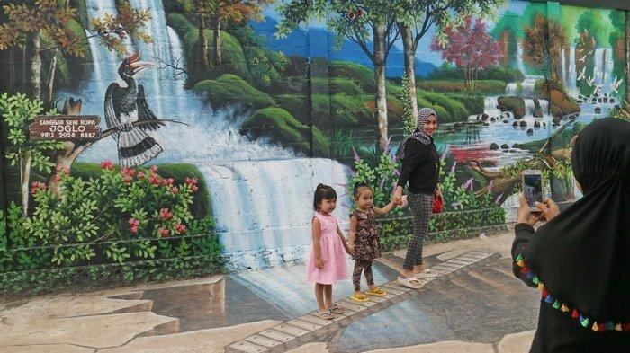Wisata Kaltim-Tak Cuma Jodipan, Balikpapan Juga Punya Kampung Warna-warni untuk 'Selfie'