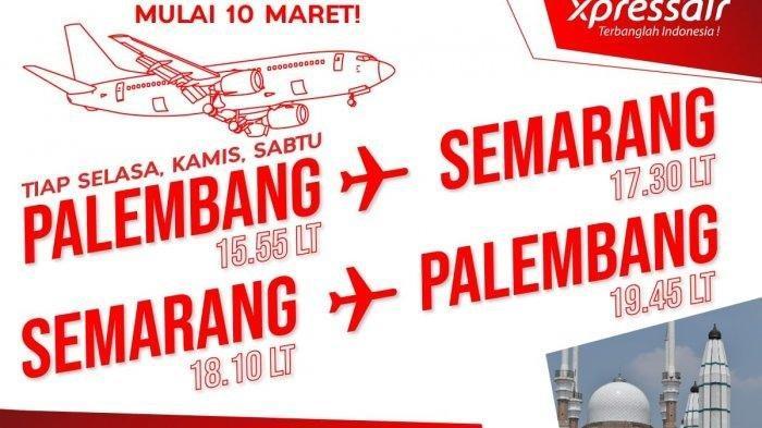 Xpressair Segera Buka Lima Rute Penerbangan Baru, Ada Promo Gratis Bagasi dan Makan-Minum