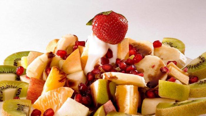 Salad buah-buahan yang memiliki kandungan rendah gula