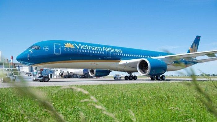 Salah satu pesawat dari Vietnam Airlines
