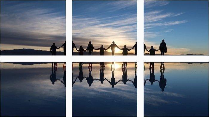 Potret Salar de Uyuni, Dataran Garam Terluas di Dunia, Penampilannya Mirip Cermin Raksasa