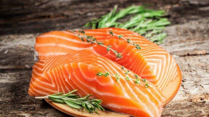 Daging kan Salmon