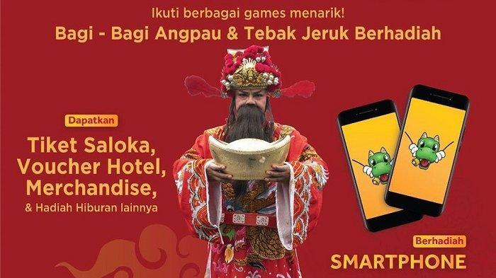 Jadwal Acara Imlek 2020 di Saloka Theme Park Semarang, Ada Cai Shen Bagi-bagi Angpao