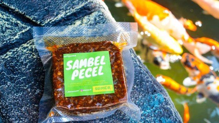 Alternatif Makanan Sehat, Sambal Pecel Kemasan di Madiun Dibuat dari Kurma dan Garam Himalaya