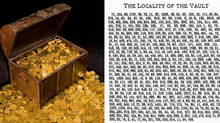 Mengungkap Sandi Misterius dari Amerika dan Temukan Harta Terpendam Senilai Rp 836 Miliar