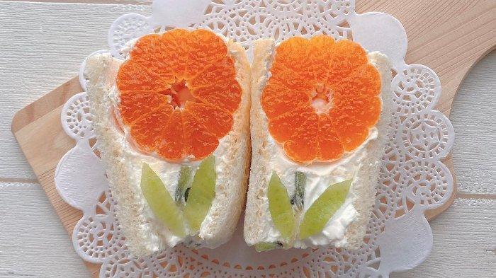 Sandwich Buah ala Jepang, Sajian Lezat nan Cantik yang Cocok Jadi Menu Takjil untuk Buka Puasa