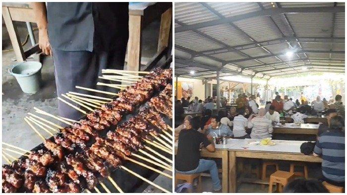 Sate Maranggi Laris Manis di Puwakarta, Sehari Habiskan 1 Ton Daging Sapi, Kambing dan Ayam