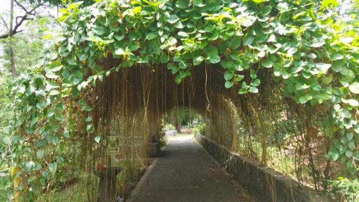Satu spot instagenic di Area Taman Satwa Taru Jurug