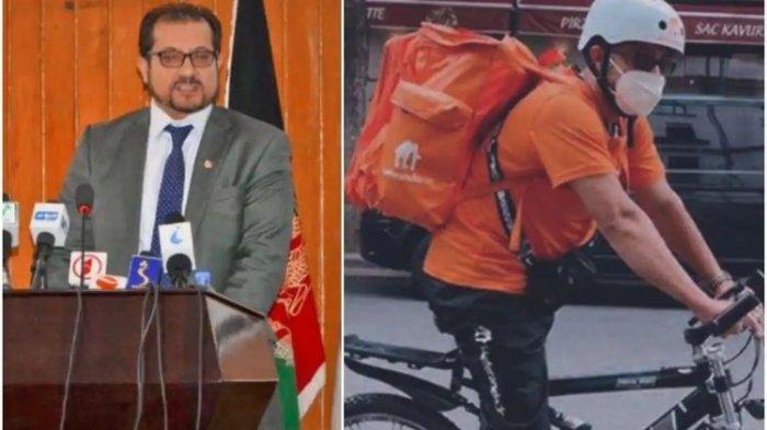 Kisah Mantan Menteri Afghanistan Kini jadi Pengantar Pizza di Jerman, Fotonya Antar Makanan Viral