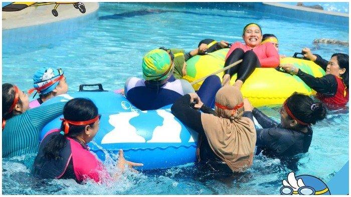 Saygon Waterpark merupakan tempat rekreasi yang cocok untuk liburan akhir pekan bersama keluarga
