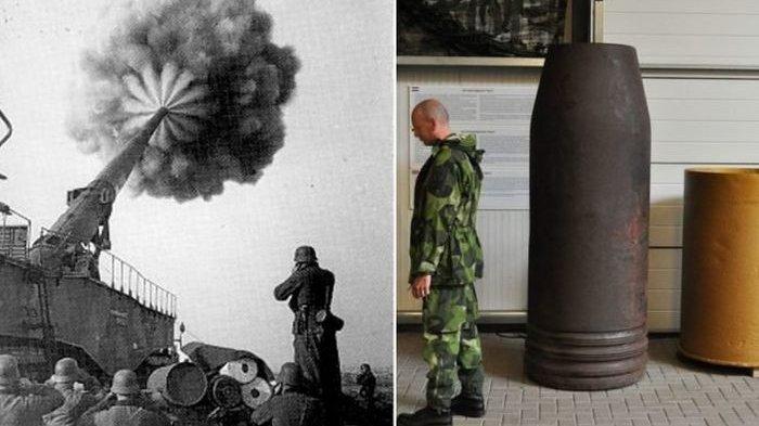Dikenal Sebagai Senjata Terbesar dan Mematikan di Dunia, Schwerer Gustav Mampu Hancurkan Beton