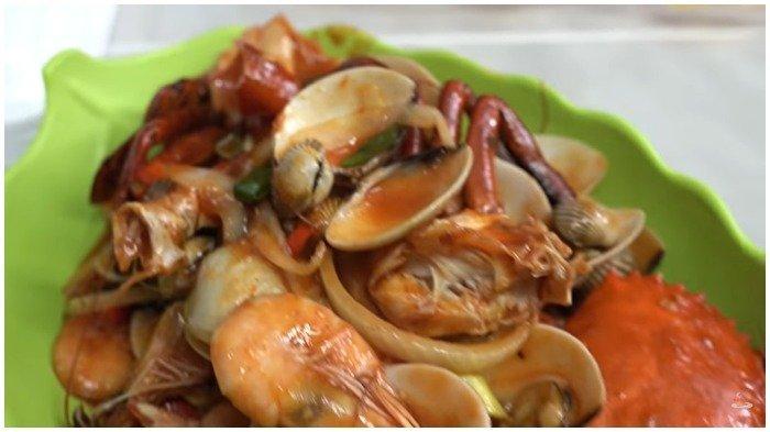 Menu seafood di Seafood Bangor 99