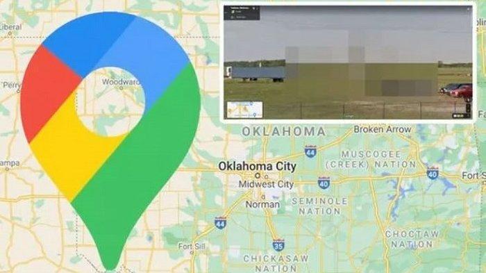 Terekam Google Maps, Truk yang Terparkir 'Berdiri' Ini Jadi Perhatian Warganet