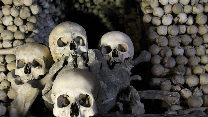 Ruang Bawah Tanah di Ceko Ini Dihiasi 40.000 Kerangka Manusia, Rumor Tanah Suci Penyebabnya