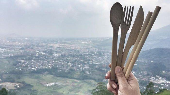 Sedotan Bambu Ciptaan Orang Indonesia Diekspor ke Luar Negeri