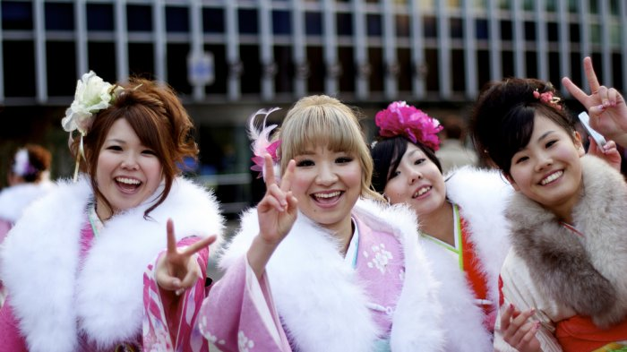 Tradisi Jepang - Cuma Boleh Diikuti Anak Muda Usia 20 Tahun, Begini Perayaan Khusus Orang Dewasa