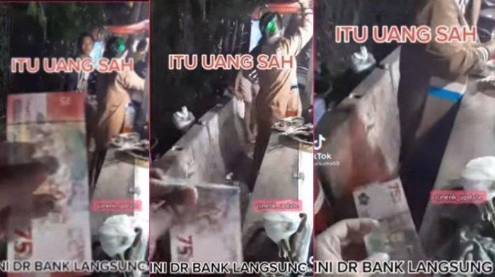 Viral di Medsos, Penjual Sate Tak Mau Dibayar Uang Kertas Rp 75 Ribuan, Dikira Uang Mainan