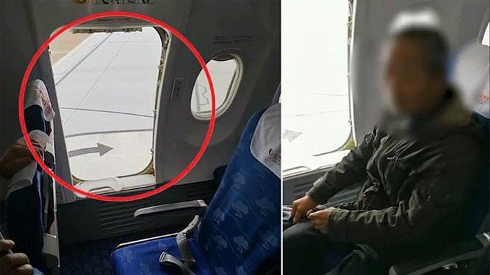 6 Insiden Penumpang Pesawat Nekat Buka Pintu Darurat, Ingin Ikuti Intruksi Pramugari Hingga Gerah
