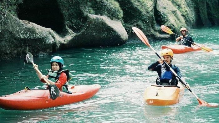 Liburan Sambil Olahraga Kayak di Namu Sira-sira, Tiket Masuknya GRATIS