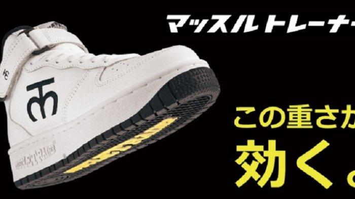 Muscle Trainer, Sepatu Sneaker yang Dipercaya Bisa Menurunkan Berat Badan, Apa Istimewanya?