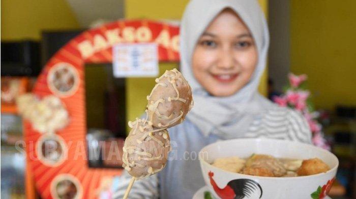 Uniknya Bakso Aci Berbentuk Virus Corona di Surabaya, Seporsinya Dijual Rp 25 Ribu