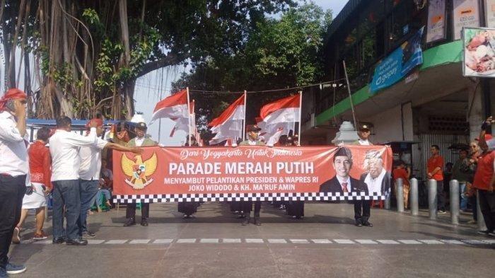 10 Fakta Parade Sambut Pelantikan Jokowi-Ma'ruf Amin di Jogja, Foto Jokowi Diarak Pakai Gerobak Sapi