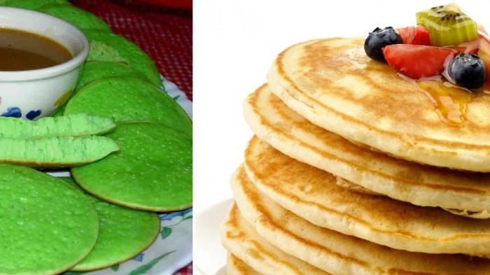 Serabi dan Pancake