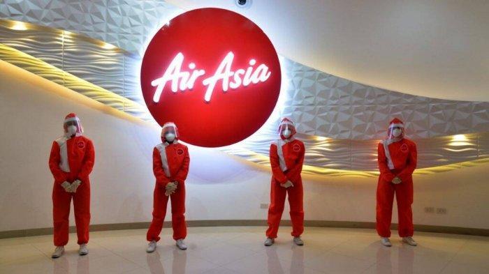 AirAsia Luncurkan Seragam Penerbangan Baru, Pakai Pelindung Wajah dan Masker
