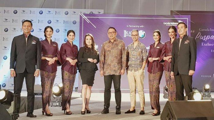 Ini Seragam Pramugari Garuda Indonesia yang Baru, Rancangan Didiet Maulana