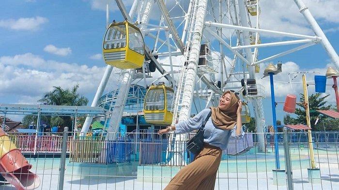 Sindu Kusuma Park, tempat wisata keluarga di Yogyakarta.