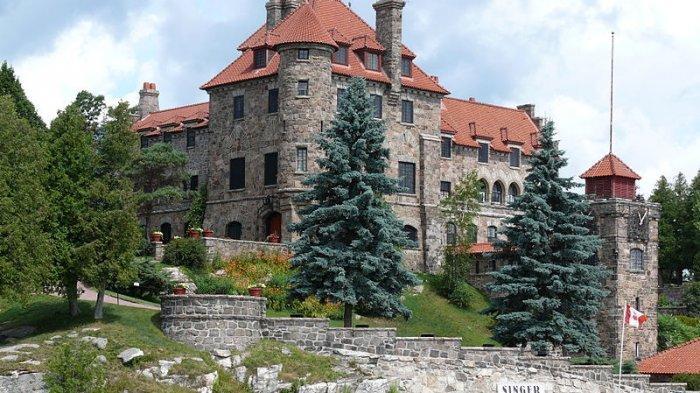 Menguak Jejak Singer Castle, Istana yang Penuh dengan Jalan Rahasia dan Penjara Bawah Tanah