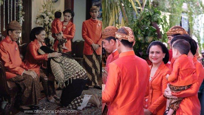 Ketinggalan Momen Siraman Kahiyang Ayu, Anak Jokowi? Inilah Deretan Foto dan Makna Prosesinya