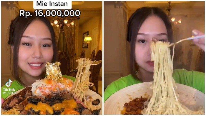 Sisca Kohl Makan Mi Instan Seharga Rp 16 Juta, Seperti Apa Rasanya?