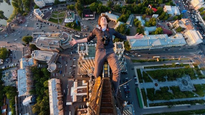 Skywalking in Russia