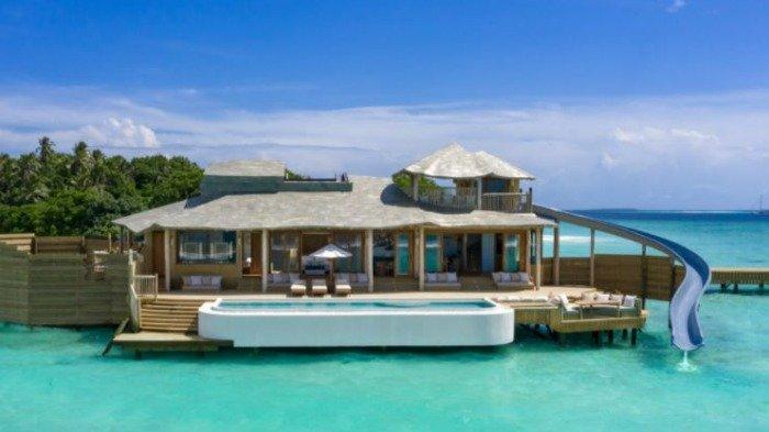 Foto-foto Villa Terbesar di Dunia yang Dibangun di Atas Perairan Maldives