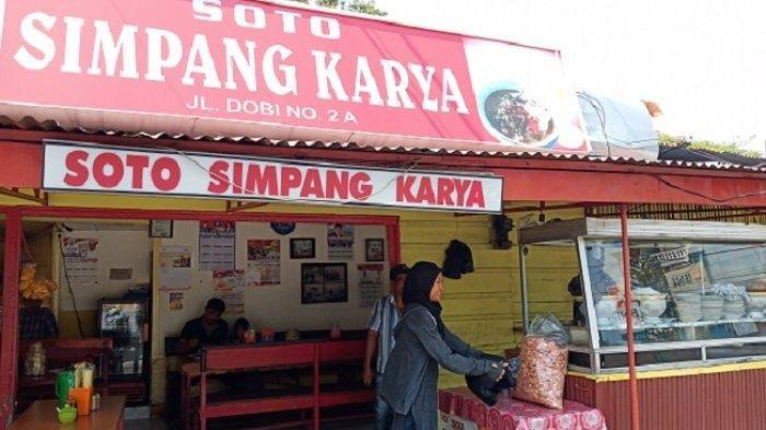 Soto Simpang Karya di Kota Padang Sering Jadi Kuliner Favorit, Pernah Dikunjungi Bambang Pamungkas